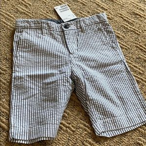 H and M boys seersucker shorts